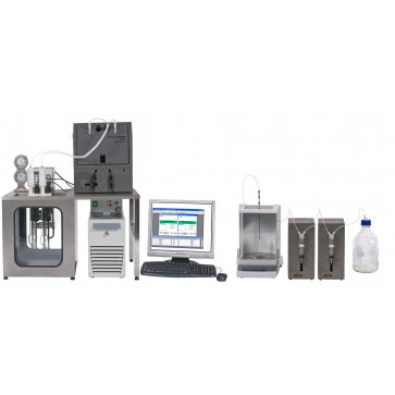 RPV-1/SP Electrical Papers Viscometer System with Sample Preparation. PSL-Rheotek