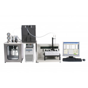 Two positions PP/PE viscometer with sampler
