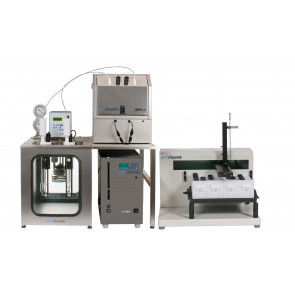 Two positions Polymer viscometer with sampler PSL-Rheotek