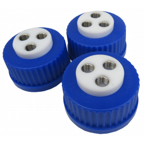 RPV Blue Cap, 3 hole version PSL-Rheotek